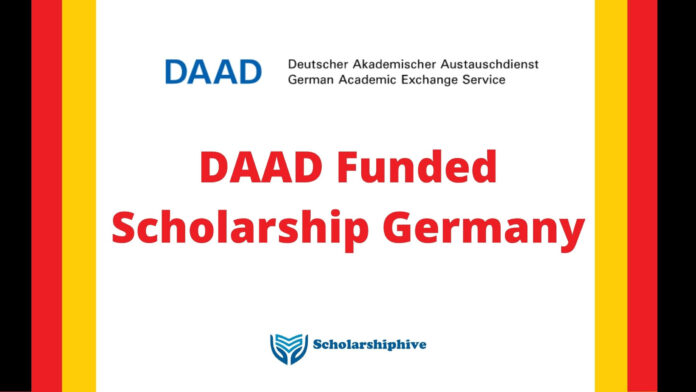 DAAD Funded Scholarship Germany