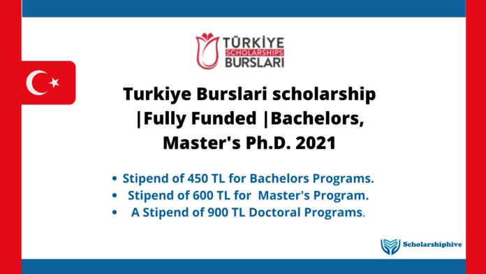 Turkiye Burslari scholarship _Fully Funded _Bachelors, Master's Ph.D. 2021