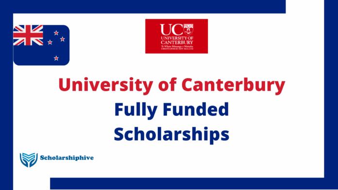 University Of Caterbury Scholarships