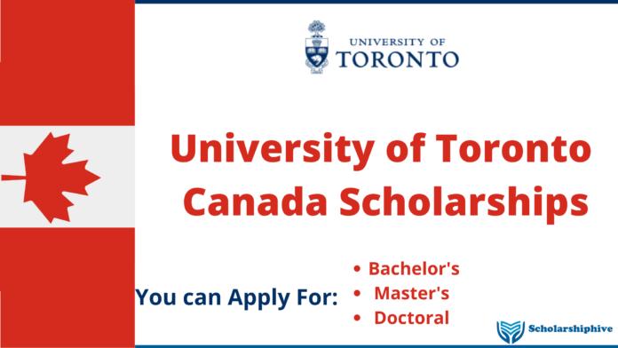 University of Toronto Canada Scholarships