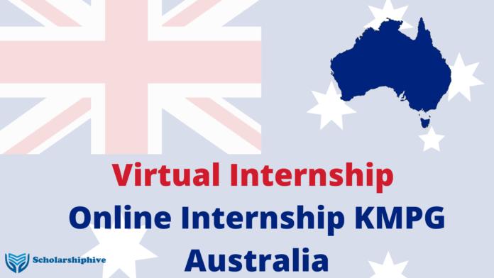 Virtual Internship Online Internship KMPG Australia