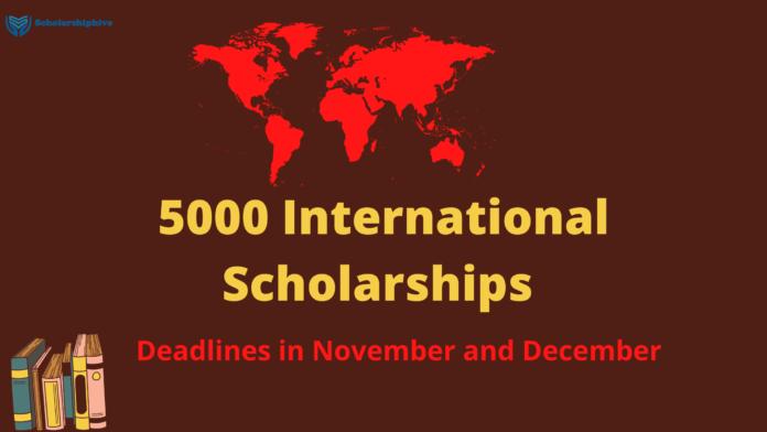 5000 Scholarships
