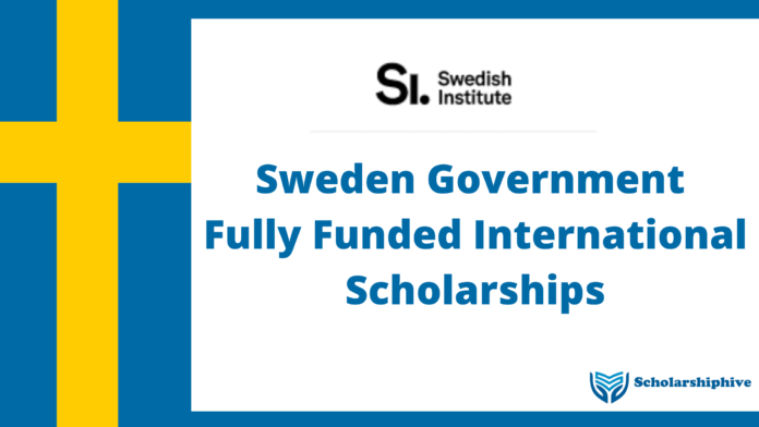 Sweden-Government-Fully-Funded-International-Scholarships