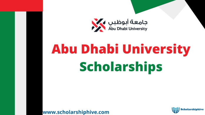 Abu Dhabi University Scholarships