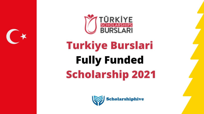 Turkiye Burslari Fully Funded Scholarship 2021